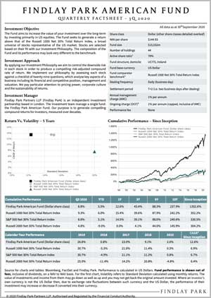 American Fund Factsheet